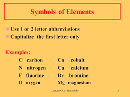 Periodic Table Abbreviations Lectureplus Timberlake1 Chapter 2 Atoms And Elements 2 1 Elements