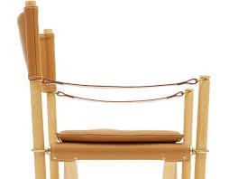 Folding Chair Leather Mogens Koch 99200 Folding Chair Hivemodern Com