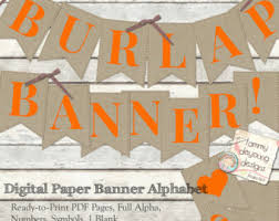thanksgiving burlap banner burlap banner etsy