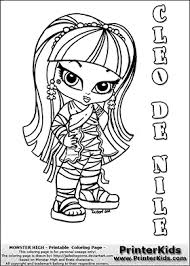 monster high chibi coloring pages monster high chibi coloring pages