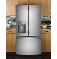 ge profile series 27 8 cu ft french door refrigerator with door