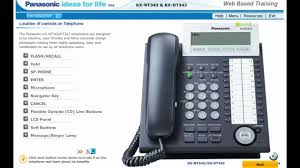 button overview of your panasonic kx nt343 kx dt343 voip or