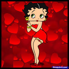 how to draw betty boop step by step cartoons cartoons draw