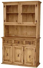 rustic china cabinet pine china cabinet wood china cabinet