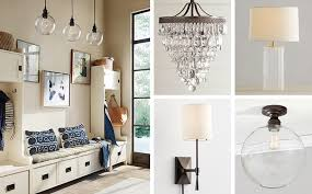 Chandeliers For Foyers How To Choose The Perfect Lighting For An Entryway Pottery Barn