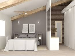 salle de bain dans chambre sous comble stunning chambre avec salle de bain sous comble contemporary