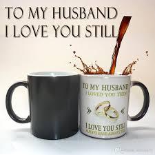 wedding gift mugs to my husband wedding anniversary gift coffee mug magic
