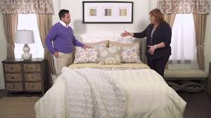 how to layer a bed how to layer a bed with laura duffek evine youtube