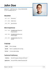 easy resume format resume format 00e250 resume template sles microsoft word easy