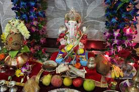 home decoration of ganesh festival ganesh chaturthi puja vidhi visarjan vidhi in hindi how to do