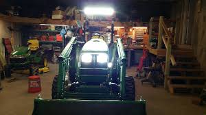 led tractor light bar 30 led lightbar install on 5 series cab tractor