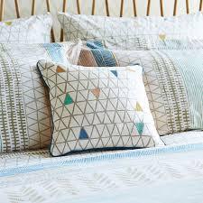 triangle bedding modern patterned bedding raita stripe by scion at bedeck 1951