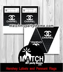 Chanel Party Decorations Coco Chanel Birthday Party Ideas Photo 4 Of 5 Catch My Party
