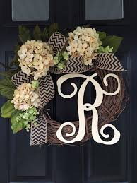all year wreath gift ideas monogram wreath wreath