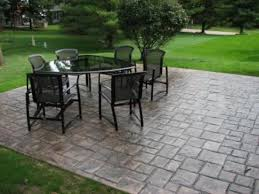 Concrete Ideas For Backyard 22 Best Stamped Concrete Patio Ideas Images On Pinterest Patio