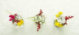 faux flower table arrangements