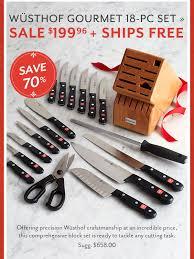 black friday wusthof knives sale sur la table black friday deals start today milled