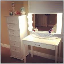 Bathroom Vanity With Makeup Table by Makeup Vanity Desk With Lights Download Page Home Furniture Design