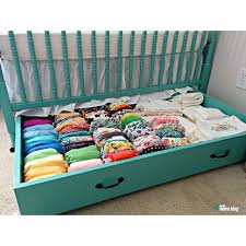 under the crib drawer great idea organizing pinterest crib