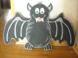 halloween bat bat wood yard art decoration halloween decor