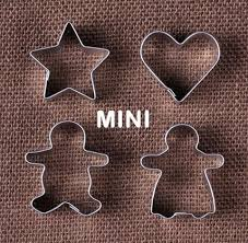 mini cookie cutters the bakers party shop