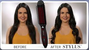 stylus thermal styling brush video stylists do have a magic wand behindthechair com