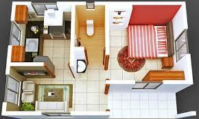 design interior rumah kontrakan desain rumah minimalis 1 kamar tidur