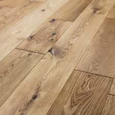 rustic cottage oak brushed lacquered engineered wood flooring