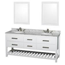 natalie 72 bathroom vanity by wyndham collection white