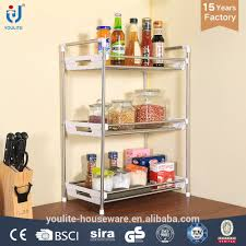 stainless steel kitchen cabinet plate rack stainless steel