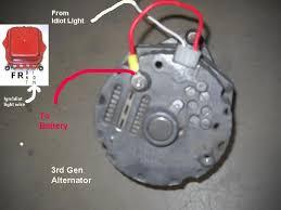 one wire alternator diagram efcaviation com