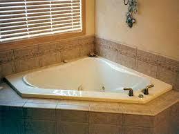 corner tub bathroom ideas contemporary bathroom with a corner tub and chic purple