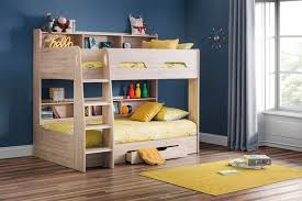 Julian Bowen Bunk Bed Julian Bowen Bunk Bed With Shelves And Drawer Sleepland Beds