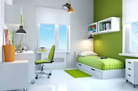 decoration chambre ado vert visuel 3