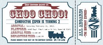 tips for choosing train birthday invitations ideas invitations