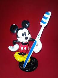 amazon com disney mickey mouse toothbrush holder home u0026 kitchen