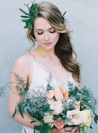 hair and makeup for a fine art bride from rouge work