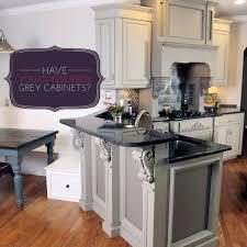 gray kitchen cabinets with white appliances dark grey kitchen