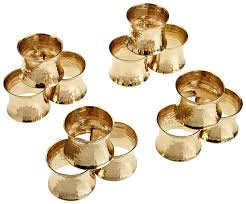 gold metal rings images Dii basic everyday napkin rings for place settings jpg