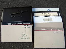 lexus warranty and services guide 1995 lexus sc sc400 coupe pristine ebay
