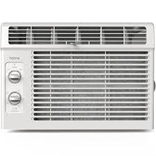 amazon com home 5000 btu window mounted air conditioner compact
