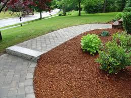 garden beautiful garden decor with brick walkway and landscaping