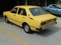yellow toyota annabella my 1980 model toyota corolla author anne field