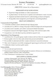 Skills And Abilities Resume Example by Skills And Abilities Resume List U2013 Resume Examples