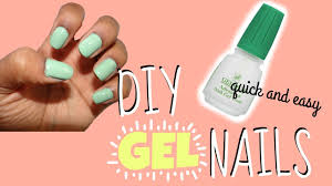 diy gel nails without uv light affordable u0026 easy youtube