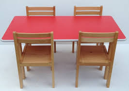 quiry folding table and chair set for kids inside small modern