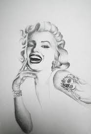 marilyn monroe day of the dead mask tattoo series original