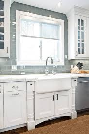 surf glass subway tile white cabinets subway tiles and subway