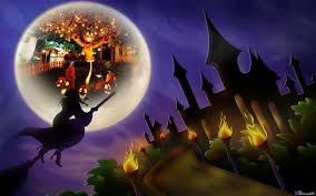 halloween background purple halloween witch wallpapers wallpaper cave