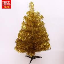 freeshipping decoration 60cm gold tree small
